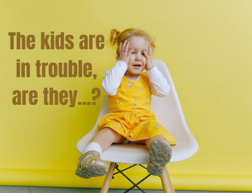 THE KIDS ARE IN TROUBLE, ARE THEY…? – webinar –